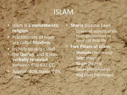 the history culture and people of a thousand splendid  islam is a monotheistic religion practitioners of islam are called muslims