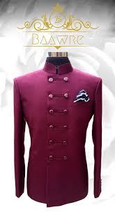 Jodhpuri Jackets Indian Designers Maroon Double Button Bandhgala Jacket Whatsapp On