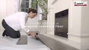 Water Resistant Laminate Flooring Kitchen Atroguard Water Resistant Flooring Youtube