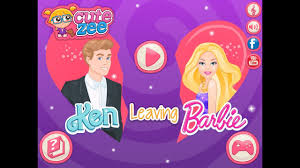 free ken leaving barbie videos barbie makeover games