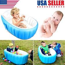 portable bathtub little b house inflatable baby bath tub portable bathtub