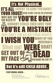 best verbal abuse images thoughts emotional  no verbal abuse especially to children