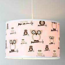 owl lamp childrens infant baby lamp girl nursery pink owl nightstand