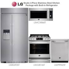 4 Piece Kitchen Appliance Set Discount Packages At Warehouse Discount Center