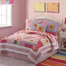 my world olivia pink twin quilt mini set