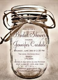 Mason Jar Decorations For Bridal Shower Mason Jar Bridal Shower Invitations 60 Cute Mason Jar Invitations 36
