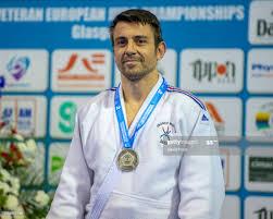 Under 90kg M3 silver medallist, Alexandre Negri of France during ...