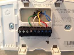 electrical installing of honeywell wi fi programmable thermostat 4 wire thermostat at Old Thermostat Wiring Color Codes