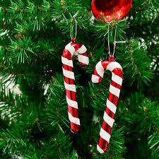Plastic Candy Cane Decorations Candy Cane Plastic Christmas Tree Ornaments eBay 41