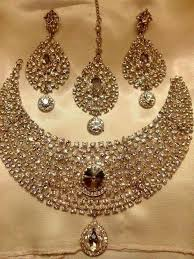 Amazing ideas indian bridal jewellery designs Pinterest Wedding Jewelry Sets For Brides The Best Photo Shaadidukaan Jaqueline Pear Shape Cz Bridal Earrings Jewelry