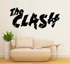 the clash large wall art bedroom living