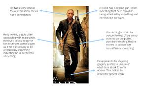 film poster analysis i am legend by natalie aknproductions s blog in