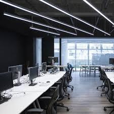 Office pendant light Circular Linear Pendant Light I253 Alcon Lighting Munoruschoolscom Gallery Of Linear Pendant Light I253