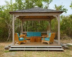 wood patio ideas. Deck Canopy Cozy Outdoor Frameless Simple Wooden Gazebo Newest Backyard Patio Ideas Wood T