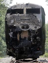 Tractor-trailer slams into speeding train in Maine - New Haven Register