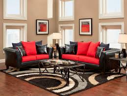 Stunning Black Red And White Living Room Concerning Remodel Ideas