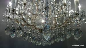 awesome chandeliers crystal drops or an extremely fine antique bohemian crystal chandelier comprising of gilded steel