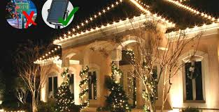 Outdoor christmas lighting White How To Power Outdoor Christmas Lights Without An Outlet Thoughtco How To Power Outdoor Christmas Lights Without An Outlet Country