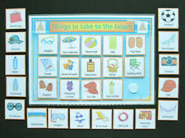 Details About Things To Take To The Beach Chart Adhd Autism Sen Dementia Asd Visual Aid Pecs