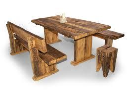 Wikinger Sitzbank Massivholzsitzbank Mit Lehne Material