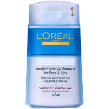 review l 39 oréal paris dermo expertise gentle waterproof lip and eye make up remover 125ml