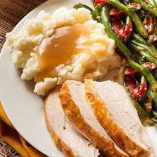 send holiday dinner