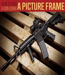 How To Hide A Gun With A Picture Frame