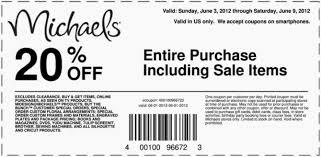 michaels printable coupon my blog michaels