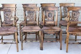 french dining chairs. Set Country French Dining Chairs Stdibs A