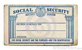 Image Image Of Old Social Benefits Stock Card Security Editorial - 80447964