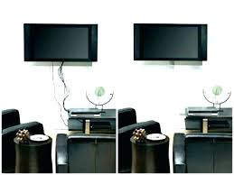 hide cables behind wall fantastic wires mount pictures tv
