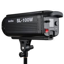 100w Led Video Light Godox Sl 100w 6500lux Studio Led Continuous Video Light Bowens Mount