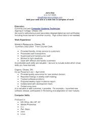 Cv Computer Skills Example Meloyogawithjoco Mesmerizing Computer Skills Resume Examples