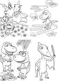 Coloriage Le Dino Train Imprimer