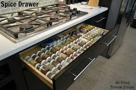 Kitchen Spice Organization Kitchen Creative Spice Drawer Insert For Spice Organizer Idea