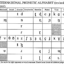 Although some similarities are present there are also many differences between these two phonetic alphabets. Pulmonic Consonants From The International Phonetic Alphabet Download Scientific Diagram