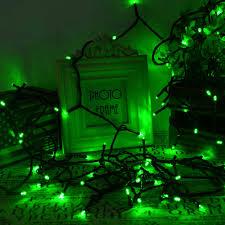 Green Solar Lights Solar String Lights 200 Led 22m Waterproof Light Garden