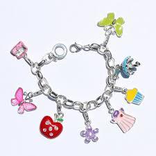 Teens and charm bracelets