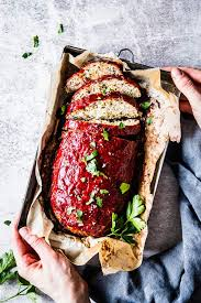 Best healthy sides for meatloaf from best 25 side dishes for meatloaf ideas on pinterest. Mediterranean Turkey Meatloaf Thm E Low Fat Healthy The Wholesome Recipe Box