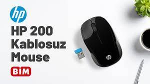 BİM – HP 200 Kablosuz Mouse - YouTube