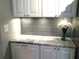 6 inch tile backsplash 9 ocean gray glass 3 x 6 inch subway tile arresting  grey