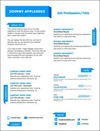 Colorful Resume Examples Modern Resume Template Resume Samples 45