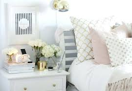 Black White Gold Bedroom Decor Gray And Tumblr With Pink Grey ...