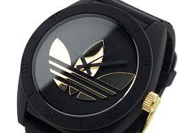 adidas adidas santiago watch adh2712 black x gold men santiago adidas adidas santiago watch