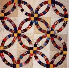 Double Wedding Ring Quilt - Best Traditional and Contemporary ideas & Gallery: Adamdwight.com