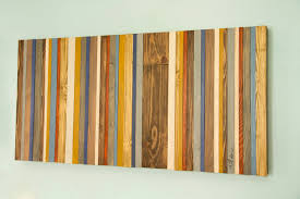 reclaimed wood wall art rustic wood decor modern wood sculpture customized gift