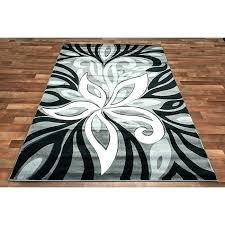 damask area rug black and white taget fo
