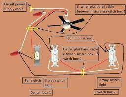 wiring diagram ceiling fan light 3 way switch 2 gang light switch wiring diagram