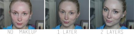 the only on my face is the face and body foundation no concealers or