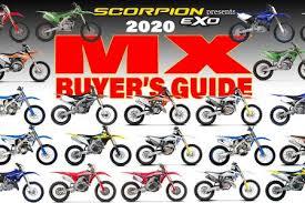 2020 Mx Bike Buyers Guide Updated Dirt Bike Magazine